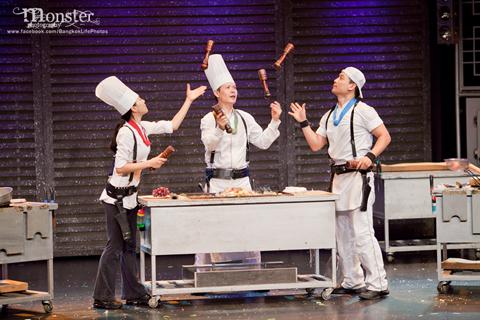 Du lịch thái lan kết hợp xem kịch đầu bếp