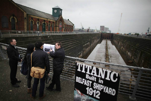 Nơi sinh con tàu titanic