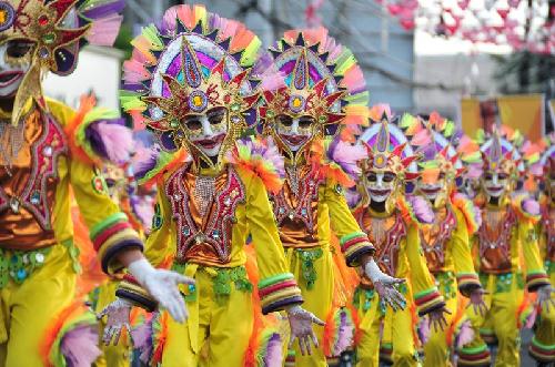 Masskara carnival rực rỡ nhất châu á