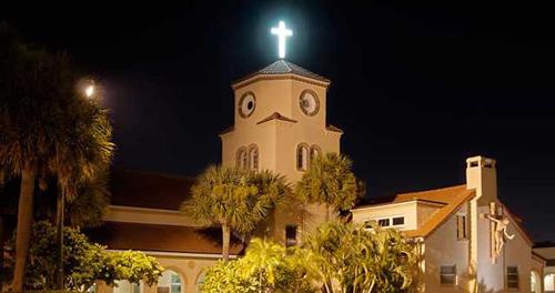 Nhà thờ con gà độc đáo ở florida