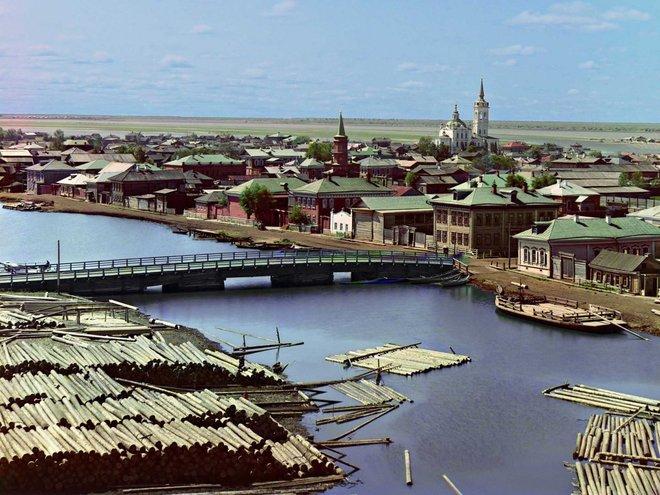 Nước nga 100 năm trước
