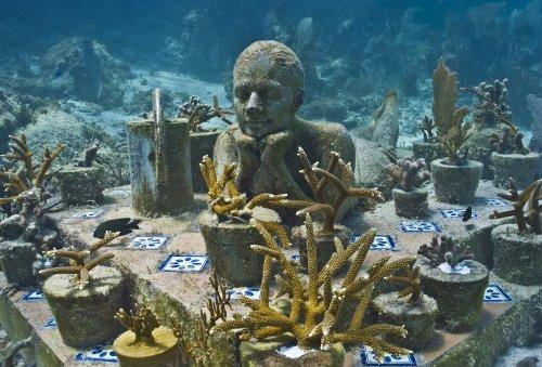 Bảo tàng dưới đáy biển độc nhất vô nhị trên thế giới