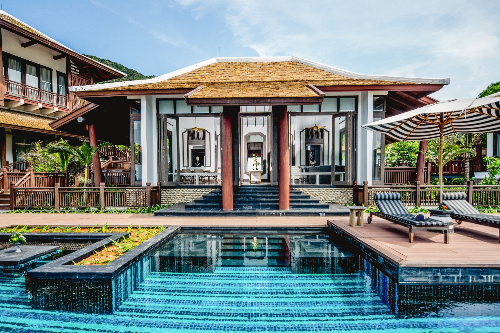Intercontinental danang sun peninsula resort nhận 4 giải thưởng