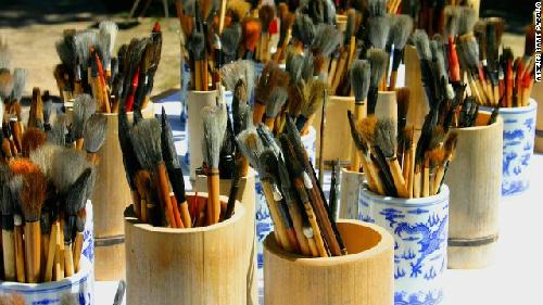 Kumano - nơi tôn vinh bút lông của người nhật