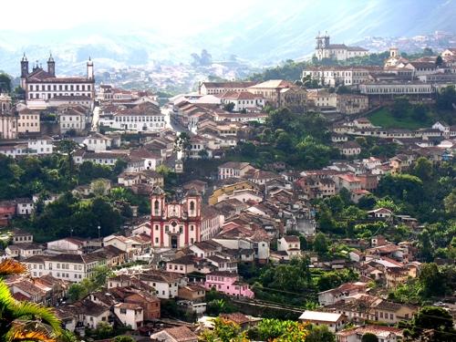 Ouro preto thành phố vàng của brazil