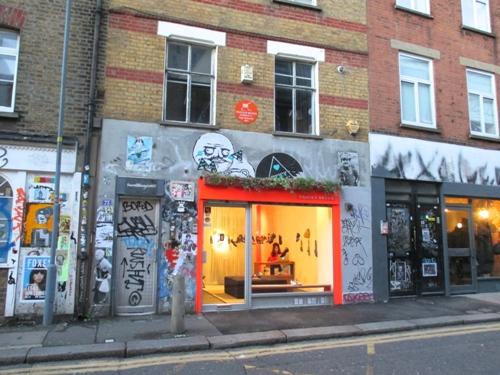Shoreditch - thế giới nghệ thuật đặc biệt ở london
