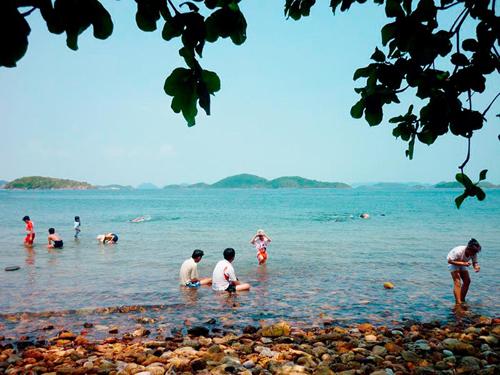 Vẻ đẹp hoang sơ biển trời kiên giang