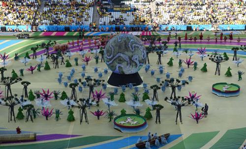 Vũ điệu samba sôi động của brazil