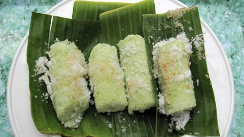 Bánh ống món quà quê của người khmer
