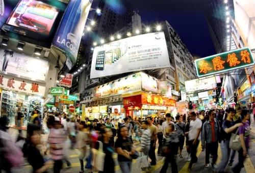 Mùa siêu khuyến mãi ở hong kong