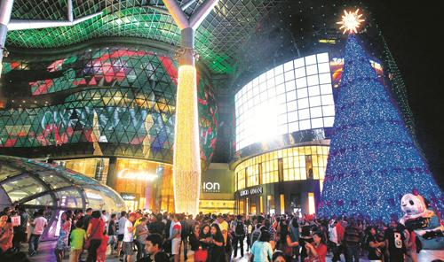 Mùa thu đông sôi động tại singapore