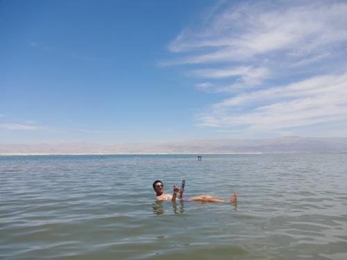 Trải nghiệm cảm giác tự nổi và làm đẹp tự nhiên ở biển chết