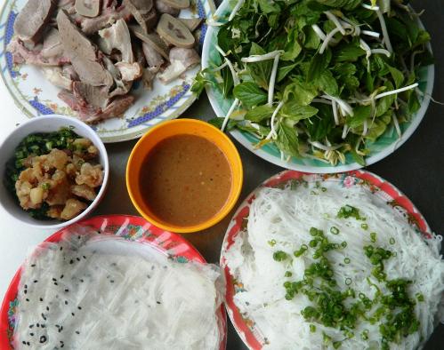 Ba món ăn chiều đậm chất phan rang
