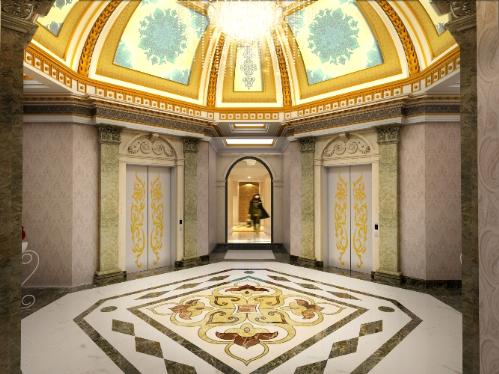 Dle roi soleil - kiến trúc pháp bên bờ hồ tây