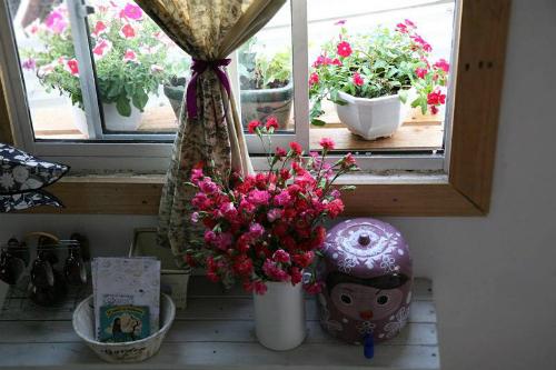 Góc thư giãn dành cho người thích ngắm hoa ở sài gòn
