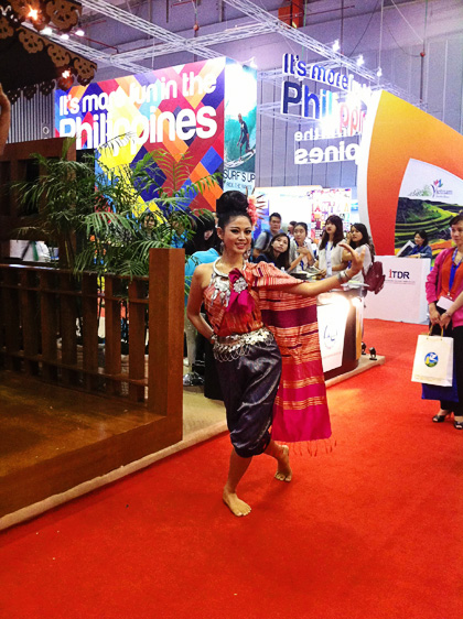 Hội chợ du lịch quốc tế tp hcm nhộn nhịp đón khách