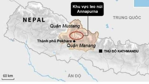 Người việt nam thiệt mạng trên đường chinh phục himalaya