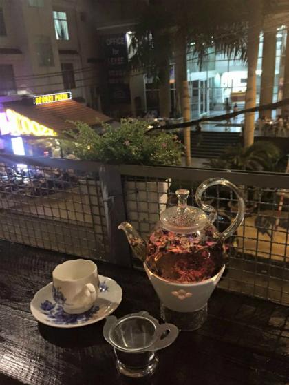 Quán cà phê dành cho người sài gòn xưa ở chung cư cũ