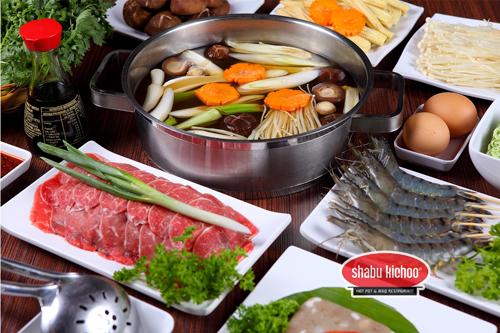 Tiệc lẩu nướng phong cách nhật tại shabu kichoo