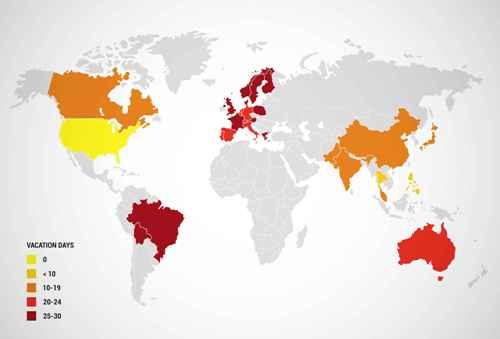 Quốc gia có nhiều ngày nghỉ nhất thế giới