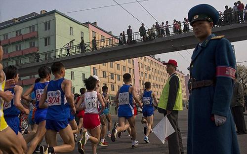 Triều tiên cấm du khách chạy marathon
