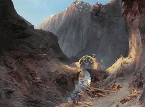 Cây cầu được xây nhờ dâng linh hồn người sống ở thụy sĩ