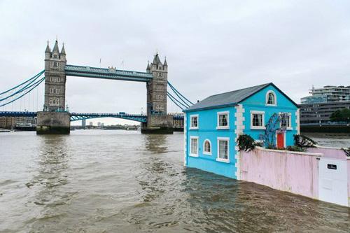 Dịch vụ vãn cảnh london bằng nhà nổi trên sông thames