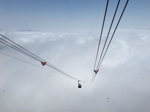 Tuyến cáp treo 3 dây dài nhất thế giới