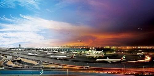 Cận cảnh sân bay lơn nhât hanh tinh tại dubai