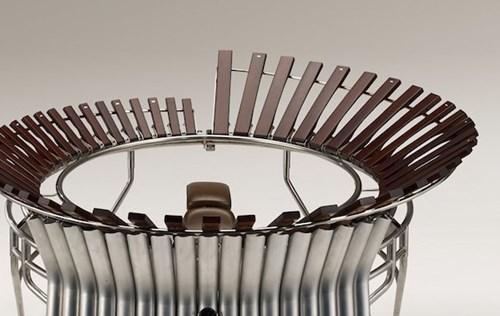 Choáng với mẫu xe máy được chế tạo theo nhạc cụ