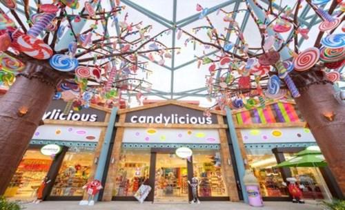 Điểm danh 5 cửa hàng kẹo ngọt ngào và màu sắc nhất thế giới