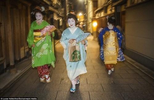 Thế giới bí mật của geisha nhật bản