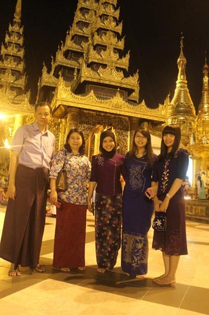 Đất nước myanmar nơi thời gian lùi lại