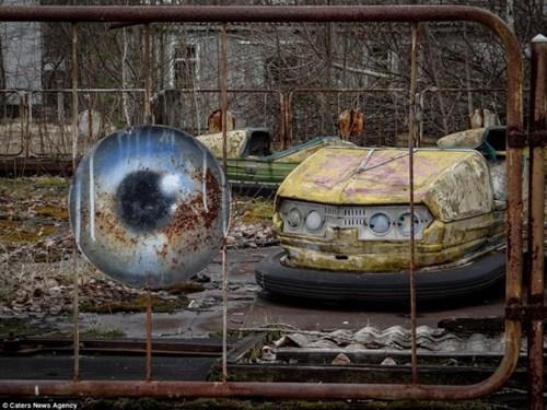 Khám phá hình ảnh bí ẩn bên trong vùng đất ma