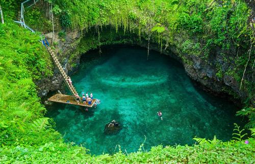 Hồ bơi ma thuật đẹp nhất thế giới