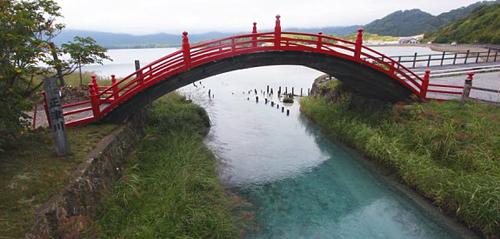 Osorezan - nơi cha mẹ xây cầu để con qua sông sinh tử