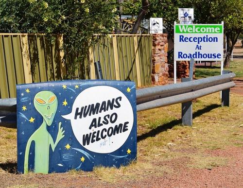 Thủ phủ người ngoài hành tinh ở australia