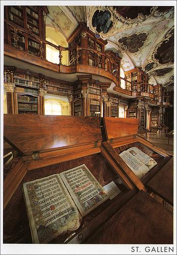 Thư viện abbey st gall