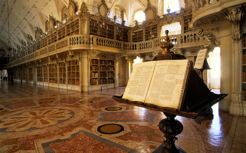 Thư viện cung điện mafra