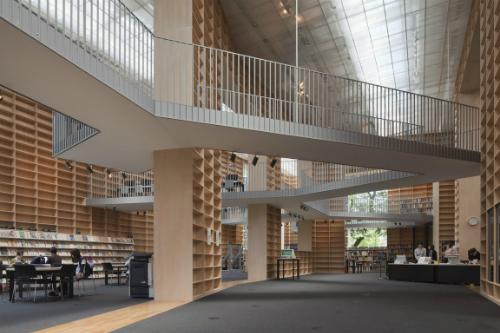 Thư viện đại học nghệ thuật musashino