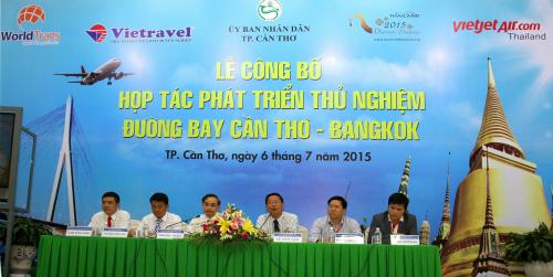 Vietravel khai thác đường bay trực tiếp cần thơ - bangkok