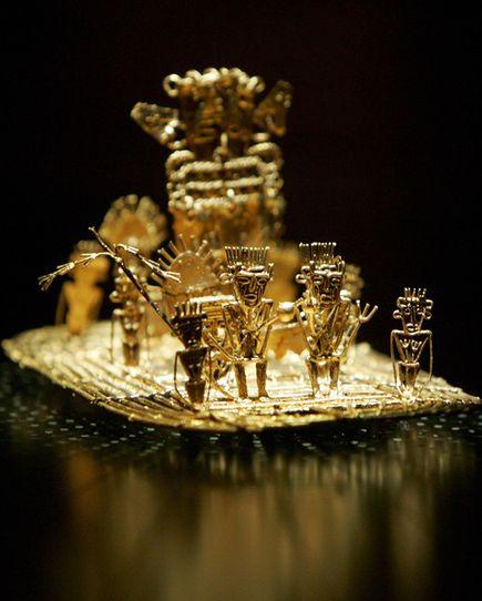 El dorado - thành phố huyền thoại có hoàng đế dát vàng