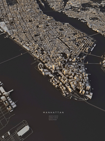 Những tấm bản đồ sáng tạo trên thế giới