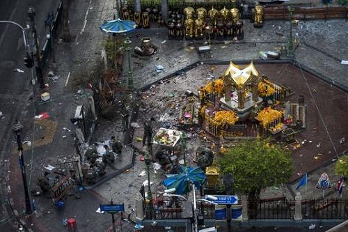 Sau vụ nổ bom bangkok du lịch thái gặp khó khăn