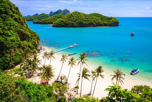 5 hòn đảo nhiệt đới xinh đẹp ở thái lan