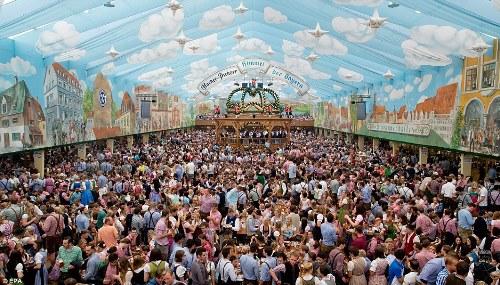 6 triệu khách tham gia lễ hội bia oktoberfest
