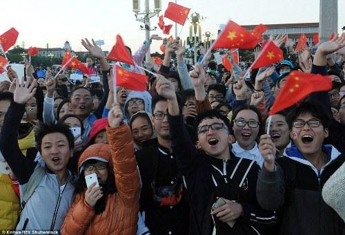 Trung quốc tắc đường vì làn sóng du lịch trong tuần lễ vàng