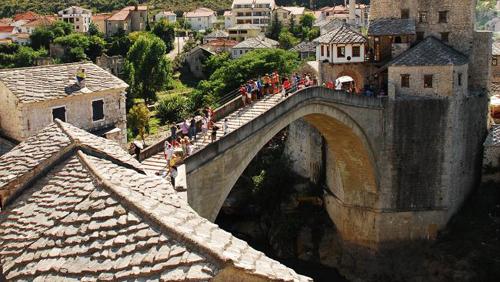 Tục lệ nhảy cầu để trưởng thành ở bosnia và herzegovina