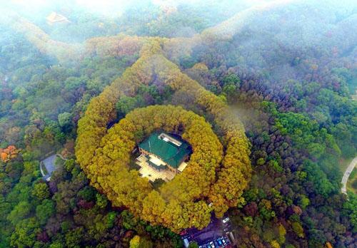 Cung điện mỹ linh - món quà tình yêu của tưởng giới thạch