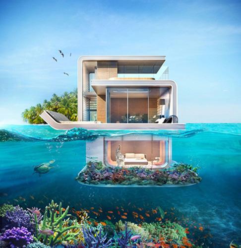 Dubai xây resort với phòng ngủ dưới nước